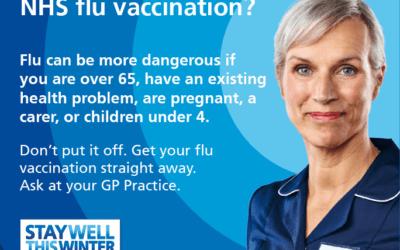 Flu jabs for over 65s