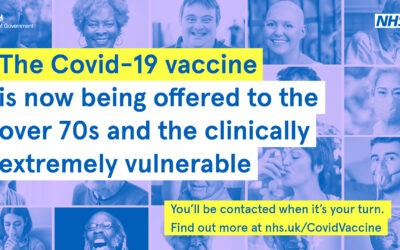 Covid-19 vaccination for people who are Clinically Extremely Vulnerable