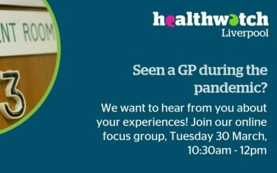 Healthwatch Liverpool patient focus group on GP services
