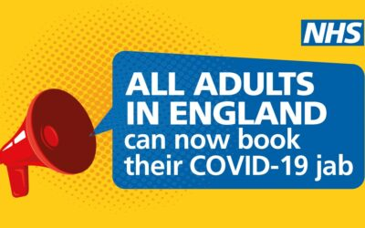All adults now eligible for the Covid-19 vaccine
